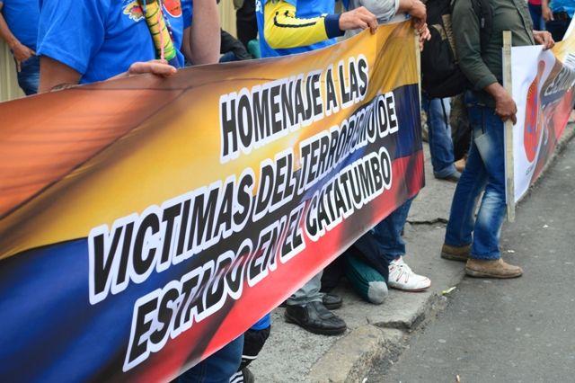 29 de mayo, marcha por las víctimas. Homenaje a las víctimas.
