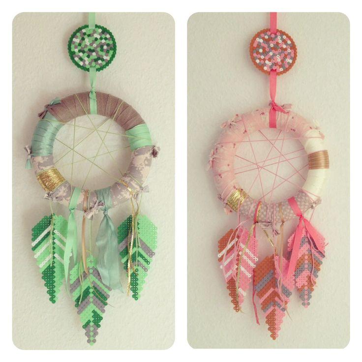 Dreamcatcher hama perler beads