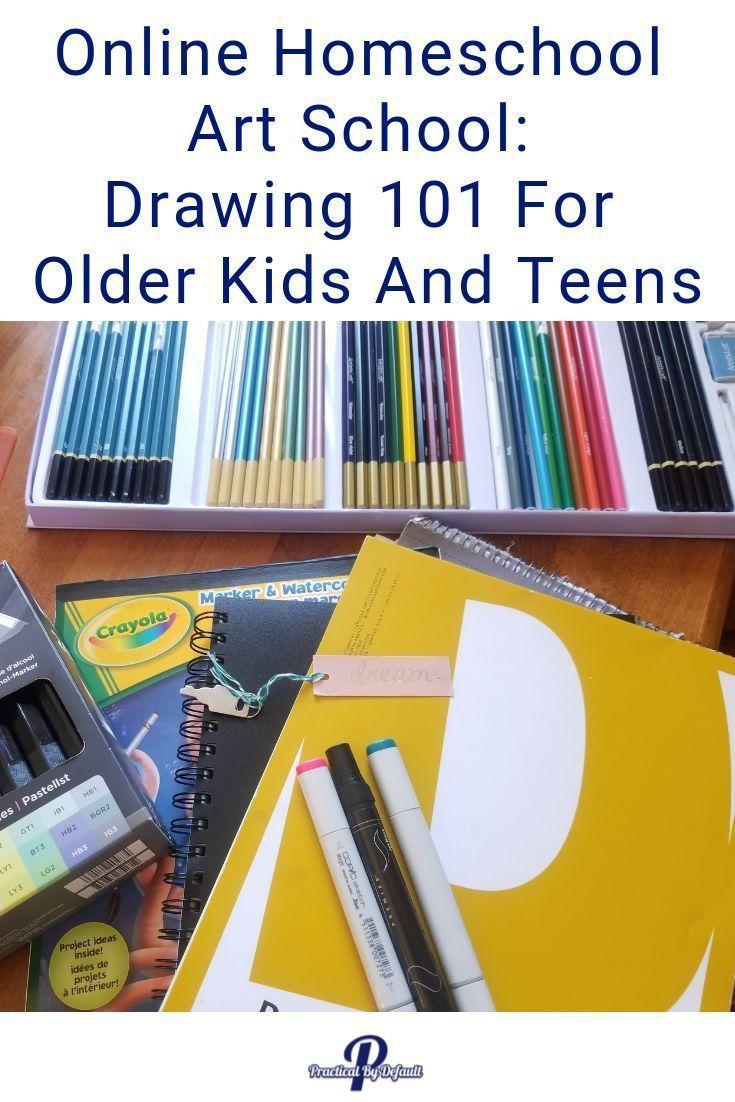 Online Homeschool Art School: Drawing 101 For Older Kids ...