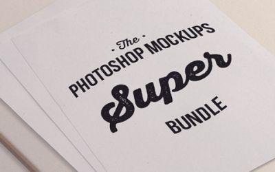 The Photoshop Mockups Super Bundle – Only $44