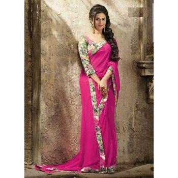 Divyanka Tripathi Georgette Designer Party Wear Sarees