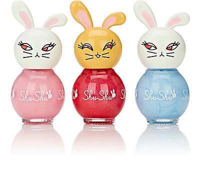 ShuShu Kids' nail polishes are free of the toxic chemicals