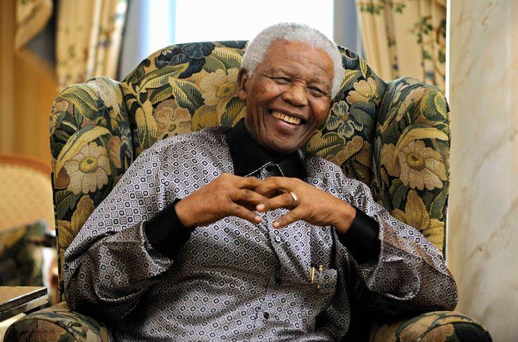 Um grande nome para nação sul-africana e para o mundo: Nelson Mandela.