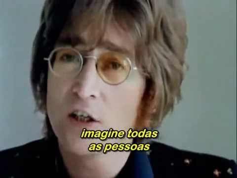 Imagine - John Lennon (Legendado) Excellent !!!  Coisa linda!!! Uma melodia para todos os tempos.