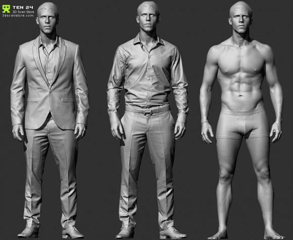New 3D scans