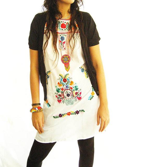 ... ShopMucho women's dress collection of Mexican dresses, quirky prints,  embroidered and tunics ...