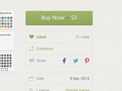 Dropbox Sync Creative Market Purchases by Liam McKay for Creative Market