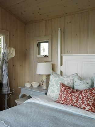Sarahs Cottage | Sarah Richardson Design.  Love these walls.