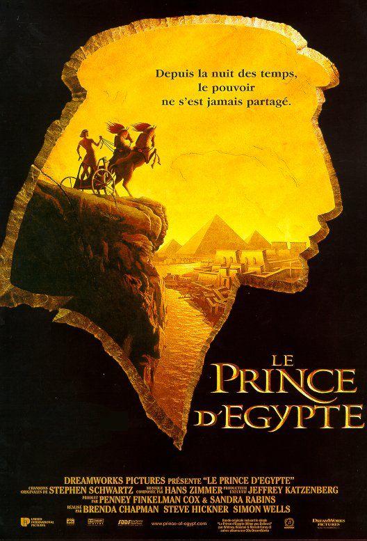 Le prince d'Égypte film réalisé par les studios DreamWorks en 1998. Il met en scène l'empereur Séthi 1er (-1294 à -1279). Il s'inspire de l'Egypte Ancienne et montre la création des pyramides, l'esclavage etc..