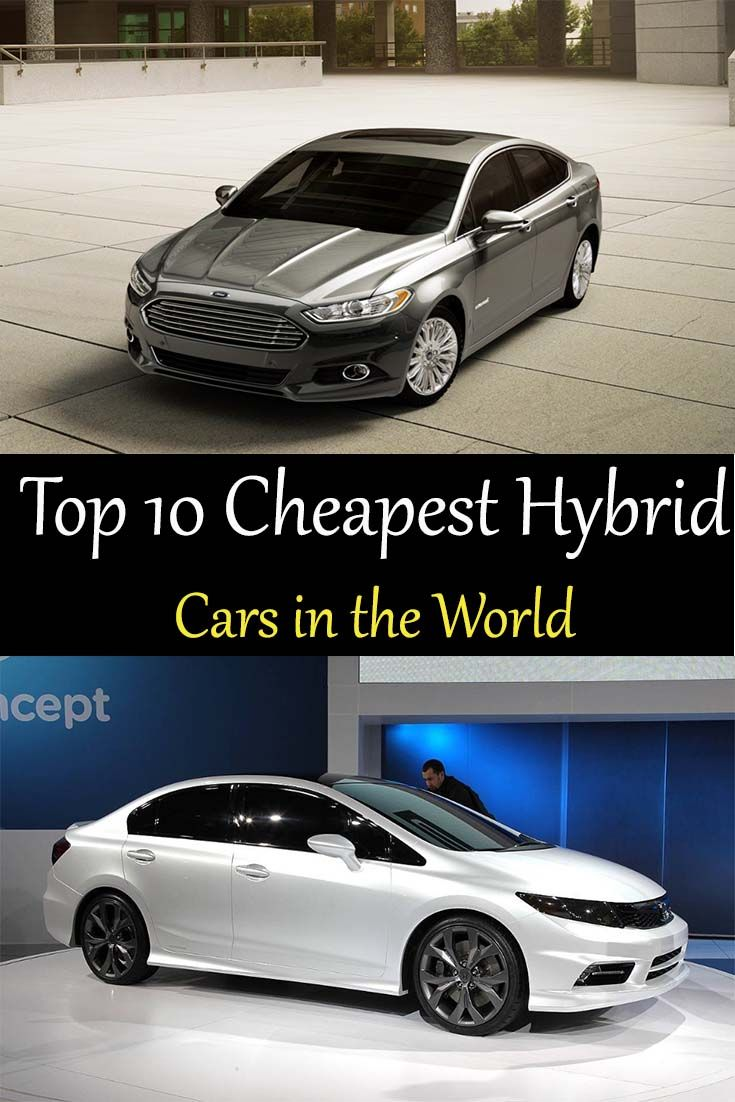 Top 10 Est Hybrid Cars In The World