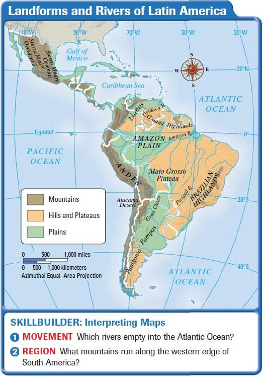 Pin by Cecilia Gonzalez on Latin America and Caribbean Maps