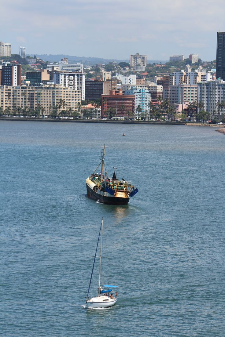 Durban's harbor is busy - one of the busiest on the African coastline. A working harbor, there is great material for both budding and professional photographers.