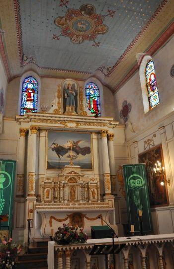Eglise Sainte-Catherine  à la Flotte-en-Ré, maitre autel