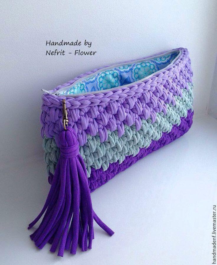 Las 25 mejores ideas sobre bolso tejido en pinterest - Ideas para hacer ganchillo ...