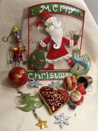 Traditional Christmas Decorations for the tree and around the home