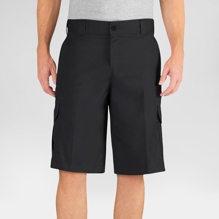 Dickies Men's Relaxed Fit Flex Twill 13 Cargo Short- Black 34