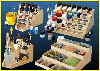 Miniature Painting Work Stations Woodworking Painting