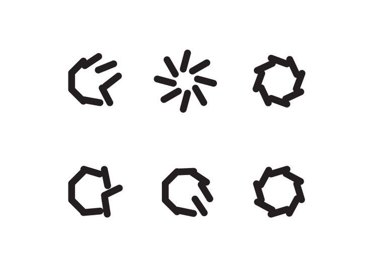 Geometric Preloaders by David Urbinati