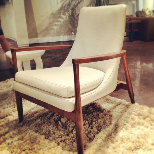 American Leather MCM Chair