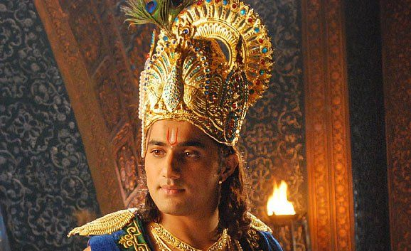 Vishal Karwal playing Krishna, I think - or Vishnu.