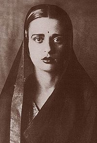 Amrita Sher-Gil (1913 - 1941), an eminent Indian painter sometimes known as India's Frida Kahlo