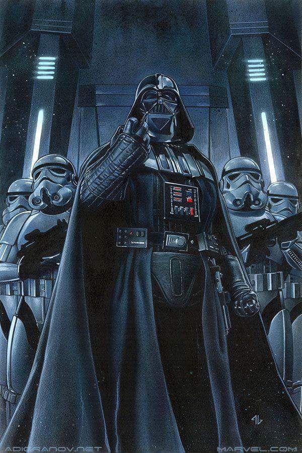 Darth Vader by Adi Granov