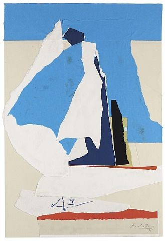 Motherwell would have been 99 today. Join us in celebrating his birthday!! (Robert Motherwell's 'Country Life').
