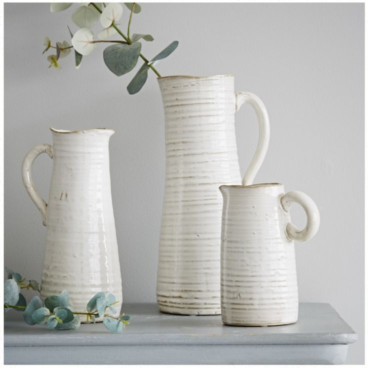 Cream Stoneware Jugs – Mad About The House