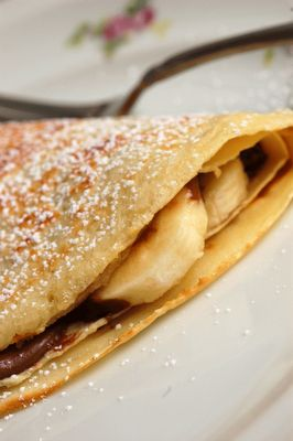 Nutella & Banana Crepes - I think this was quite possibly my fave food in Paris!