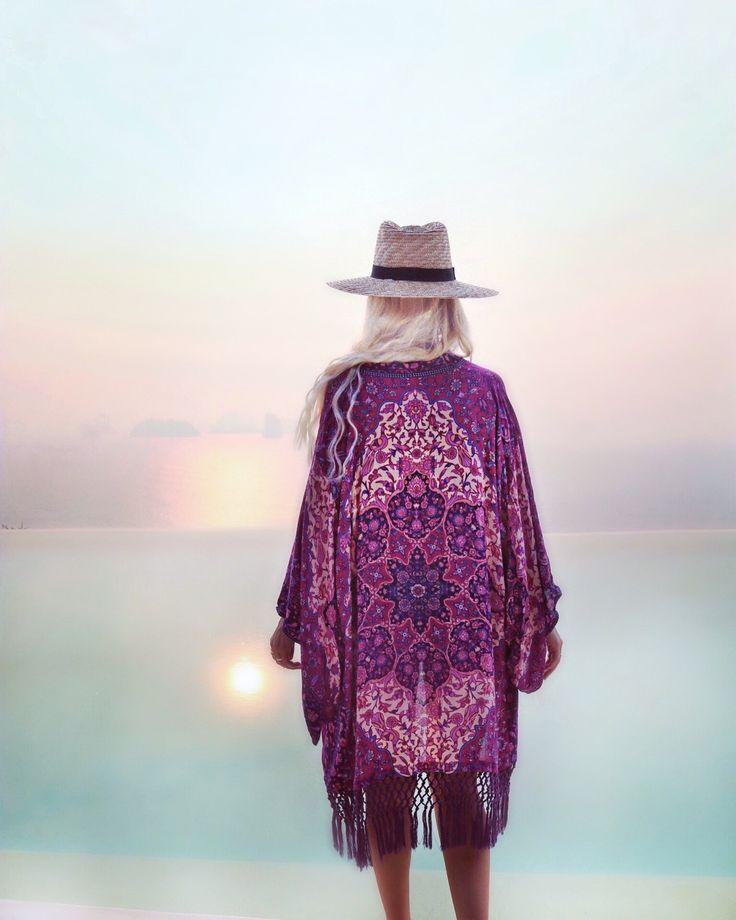 GypsyLovinLight: Six Senses magical hazy sunrise wearing Spell