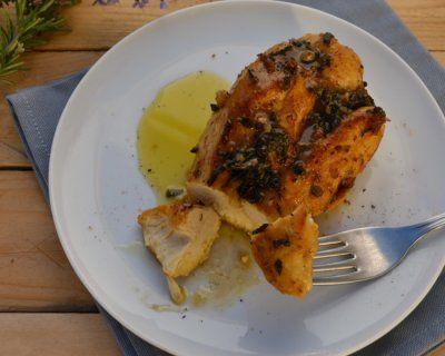 Petti pollo al forno con paprika aromatizzati Martini bianco