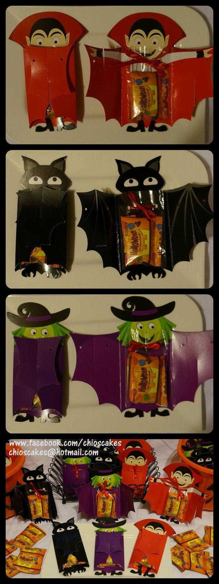 DOLLAR STORE PARTY IDEA. I found these treat bags at a dollar store. Only filled with jelly beans and ready! Happy Halloween kids! / Encontré estas bolsas para golosinas en una tienda de dóllar. Solamente las llené con gomitas y listo!. Me parecieron divertidas para la fiesta de Halloween de la escuela de mis hijos. Seguro que lo van a disfrutar... Happy Halloween enanitos!!!