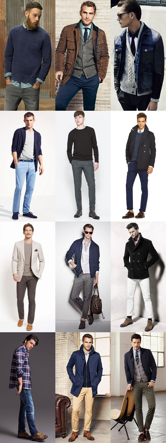 Men 39 S Classic Timeless Outfit Inspiration Lookbook Men 39 S Style Pinterest Herrmode Kl Der