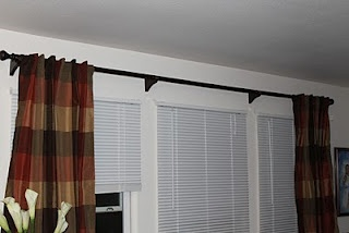 PVC Curtain Rod for less than $15!!!!!! TUTORIAL: New Houses, Long Curtains, 75 Curtains, Clever Ideas, Pvc Pipes, Front Window, Pipes Curtains Rods, Diy Curtains, Iffi Scrap