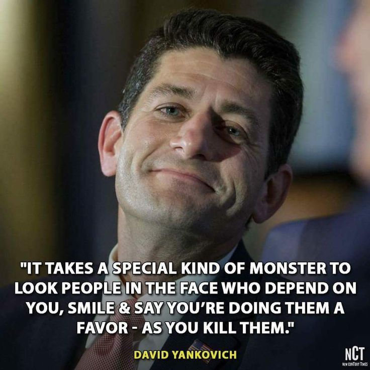 Calling Paul Ryan a dickhead would be an insult to the everyday, run-of-the-mill assholes of the world.