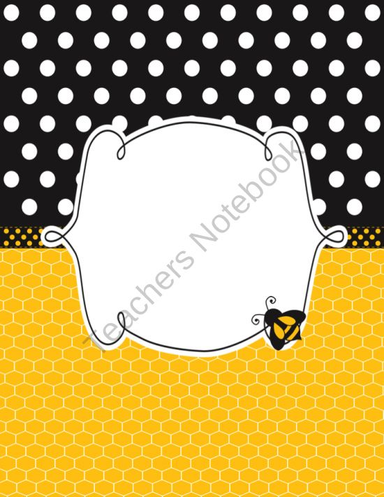 Bee Classroom Planner From Decor More On TeachersNotebook 118 Pages