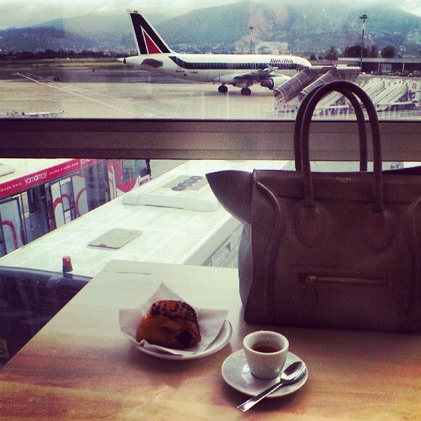 Carry on bag #satchel #coffee #airport