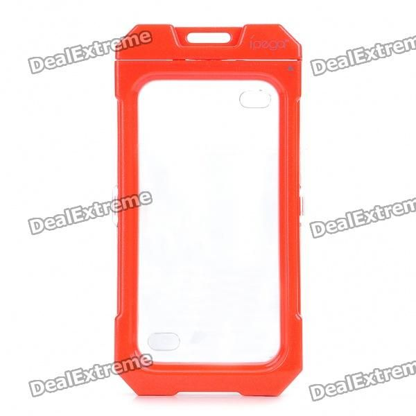Model:PG-IH095 - Color: Red - Material: Silicon membrane + plastic - Waterproof 3M underwater - Good waterproof protective effect allowing you to use it under rain snow or other similar circumstance - Tightness and mechanical strength bring your Iphone with excellent care - Dust and fingerprint resistant - Comes with Chinese/English user manual http://j.mp/1lkoimu