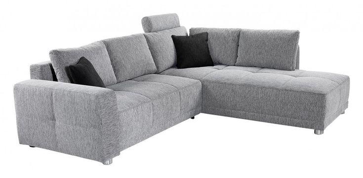 Die Funktionsecke Nagano bietet Ihnen jeden Komfort, den Sie für Ihren entspannten Alltag benötigen. Der graue Bezug besteht aus Flachgewebe (100% Polyester), die mit enthaltenen schwarzen Zierkissen aus Flachgewebe (100% Polyester setzten Ihr Wohnzimmer in Szene.Diese Funktionsecke passt überall hin, da sie nur eine Stellfläche von 257 x 215 cm. Eine Bettfunktion mit einem integrierten Bettkasten bietet Ihnen die Möglichkeit Ihre Gäste nun auch über Nacht zu beherbergen. Liegefläche ca. 224…