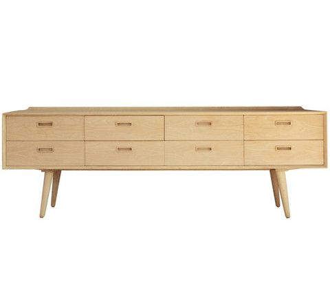 Nordic Buffet with 8 Drawers - Complete Pad ®