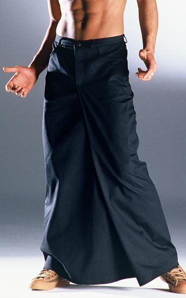 Menskirt London black XL -- AndersLandinger - Männerrock - Röcke für Männer - Skirts for Men - Menskirt - Herrenrock - Jupe Hommes