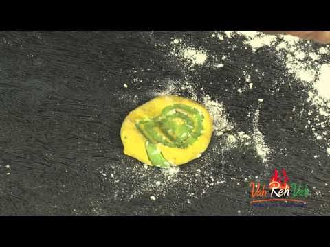 Breakfast recipes for kids Palak and Ajwain Lachha