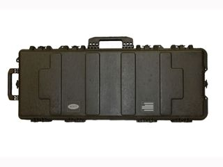"""Boyt H41XD Tactical Rifle Case with Solid Foam Insert and Wheels 43"""" Polymer Black"""
