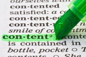 Content is critical for your website