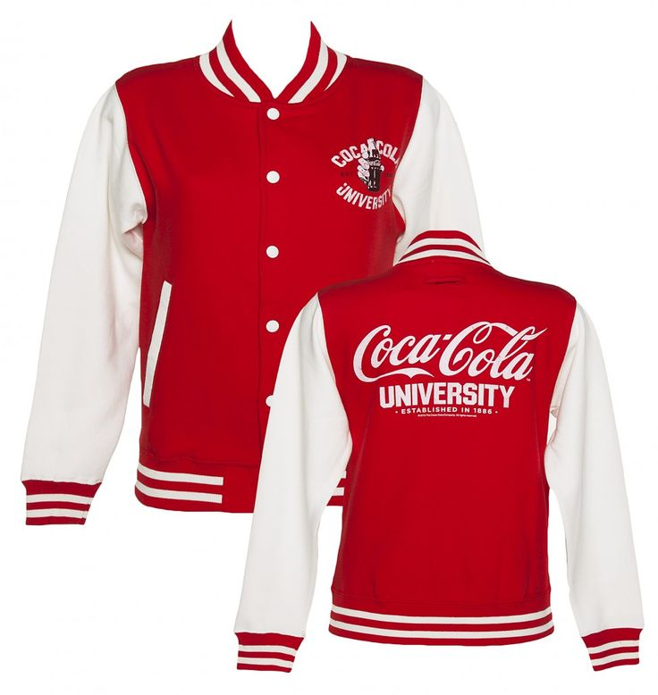Coca-Cola University Varsity Jacket  I want this!!!