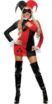 Discount Batman's Harley Quinn Halloween Costume for Sale - Female ...