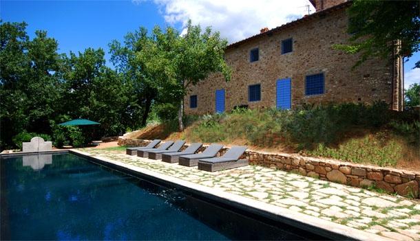 Photos and pictures of Villa la Badia, Badia a Passignano - Tuscany, Italy