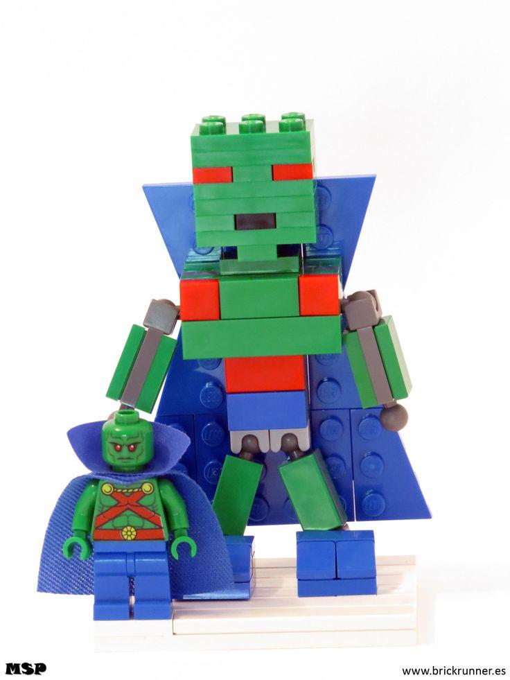Martian Manhunter Lego super heroes, Martian manhunter