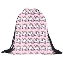 Cute Unicorn Drawstring Bag Mochila Feminina Large Soft Backpack Emoji 3D Printing Shopping Beach Travel Bags Wholesale noJY17     Tag a friend who would love this!     FREE Shipping Worldwide     Get it here ---> http://fatekey.com/cute-unicorn-drawstring-bag-mochila-feminina-large-soft-backpack-emoji-3d-printing-shopping-beach-travel-bags-wholesale-nojy17/    #handbags #bags #wallet #designerbag #clutches #tote #bag