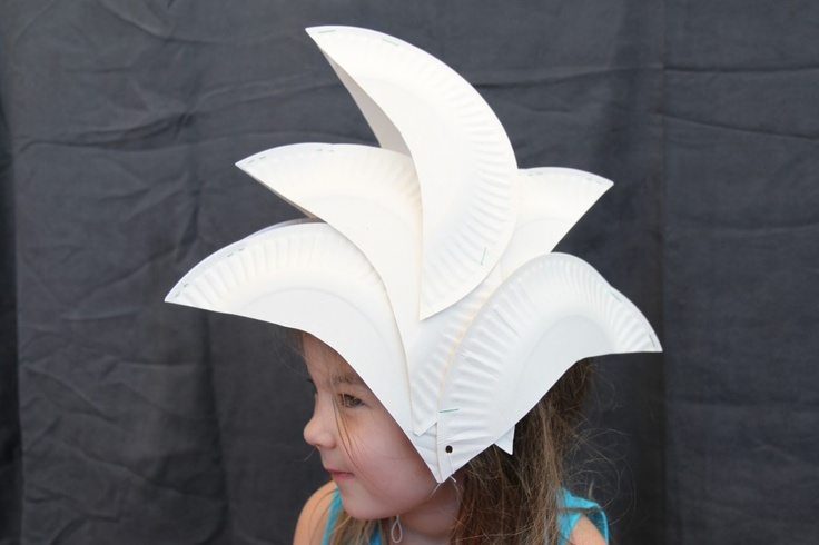 Jellyfish Jelly - Paper Plate Sydney Opera House hat!